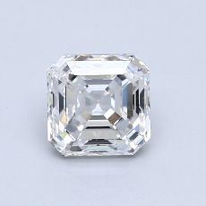 Recommended Stone #2: 0.96-Carat Asscher Cut Diamond