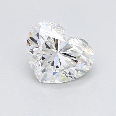 Recommended Stone #2: 0.93-Carat Heart Cut Diamond