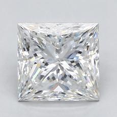 Recommended Stone #1: 1,90-Carat Princess Cut Diamond