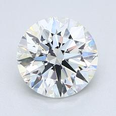 1.71-Carat Round Diamond Ideal E VS1