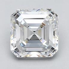 2.00-Carat Asscher Diamond Very Good E VVS2