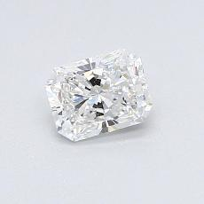 0,51-Carat Radiant Diamond Very Good D IF