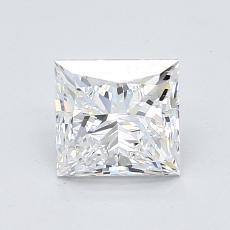 推薦鑽石 #2: 1.20  克拉公主方形鑽石