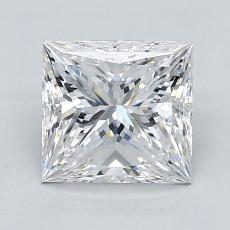 1.51-Carat Princess Diamond Very Good E VVS2