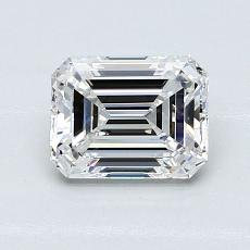 Recommended Stone #4: 1,21-Carat Emerald Cut Diamond