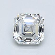 Recommended Stone #4: 1.10-Carat Asscher Cut Diamond