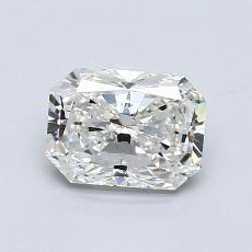 1.01-Carat Radiant Diamond Very Good H VS1