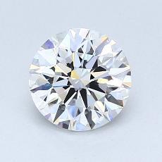 1,10-Carat Round Diamond Ideal E VS2