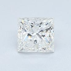 1,01-Carat Princess Diamond Very Good F IF