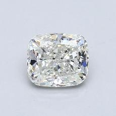 0.80-Carat Cushion Diamond Very Good H VVS2