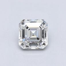 0.73 Carat 上丁方形 Diamond 非常好 F VVS1