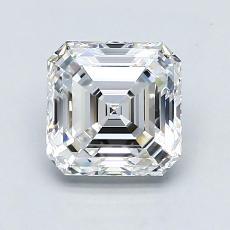 Recommended Stone #4: 1.63-Carat Asscher Cut Diamond
