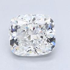 1.74 Carat 垫形 Diamond 非常好 F VVS2