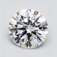 1.52-Carat Round Diamond Ideal F VS2
