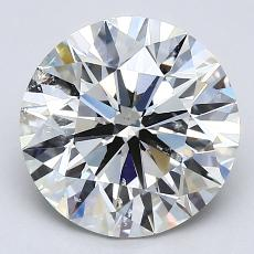 Recommended Stone #3: 2,52-Carat Round Cut