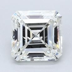 Pierre recommandée n°3: Diamant Taille Asscher de 3,10carat
