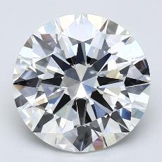 推荐宝石 3:4.18克拉圆形切割钻石