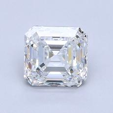 Recommended Stone #2: 2,11-Carat Asscher Cut Diamond