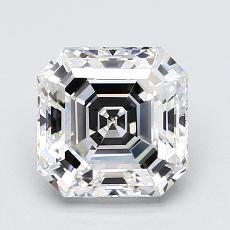 2,01-Carat Asscher Diamond Very Good F VS1