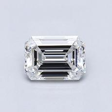 Recommended Stone #4: 0.72-Carat Emerald Cut Diamond