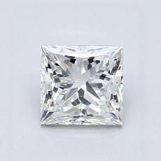1,02 Carat Princesse Diamond Très bonne G VS1