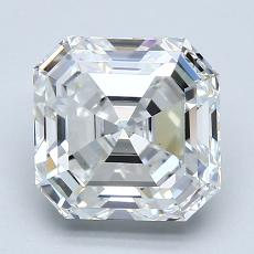 2.30-Carat Asscher Diamond Very Good G VS1
