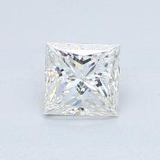 0.71 Carat 公主方形 Diamond 非常好 F VVS1
