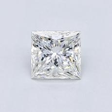 0.70 Carat Princesa Diamond Muy buena F VVS2