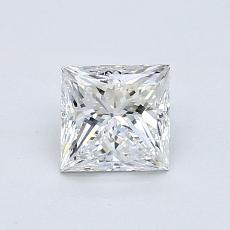 Recommended Stone #4: 0.83-Carat Princess Cut Diamond