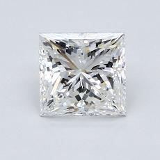 Recommended Stone #2: 1.24-Carat Princess Cut