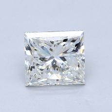 Recommended Stone #4: 1.21-Carat Princess Cut