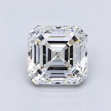 オススメの石No.4:1.25カラットアッシャーカットダイヤモンド