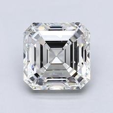 1.75-Carat Asscher Diamond Very Good F VVS1