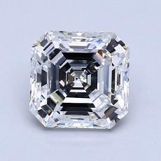 Recommended Stone #4: 1.41-Carat Asscher Cut Diamond