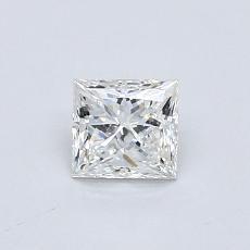 Recommended Stone #4: 0.54-Carat Princess Cut Diamond
