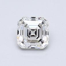 Recommended Stone #4: 0.80-Carat Asscher Cut Diamond