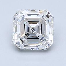 Piedra recomendada 4: Diamante de talla Asscher de 2.03 quilates