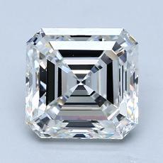 Recommended Stone #1: 2.01-Carat Asscher Cut Diamond