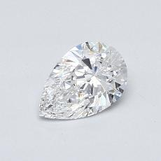 Recommended Stone #4: 0.53-Carat Pear Cut Diamond