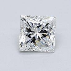 1.01-Carat Princess Diamond Very Good G VS1