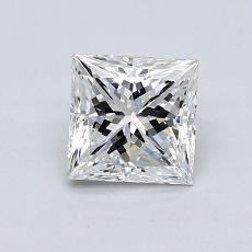 1,01 Carat Princesse Diamond Très bonne G VS1