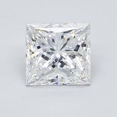 Recommended Stone #4: 1.18-Carat Princess Cut