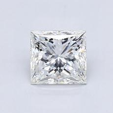Recommended Stone #2: 0.95-Carat Princess Cut Diamond