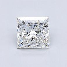 Recommended Stone #4: 0.96-Carat Princess Cut