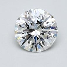 1.23-Carat Round Diamond Ideal G VVS1