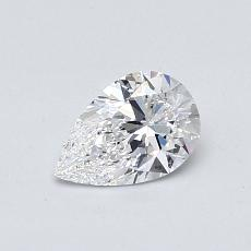 推荐宝石 4:0.53 克拉梨形切割钻石