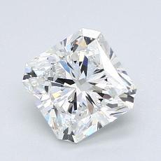 1.51 Carat ラディアント Diamond ベリーグッド F VVS2