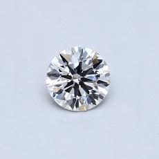 推荐宝石 3:0.31 克拉圆形切割