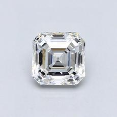 0,77-Carat Asscher Diamond Very Good E VVS2