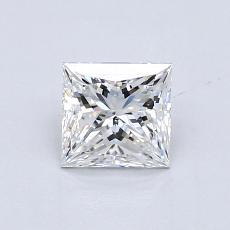 Recommended Stone #4: 0.81-Carat Princess Cut Diamond